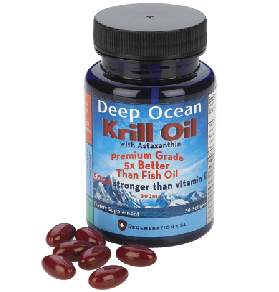 Deep Ocean Krill Oil with Natural Astaxanthin